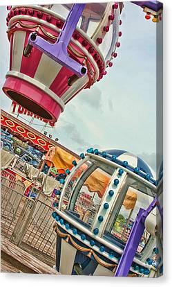 Fun Fair Canvas Print by Heather Applegate
