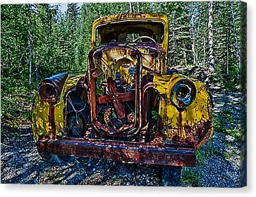 Funky Truck Canvas Print by Craig Brown