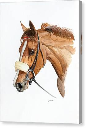 Canvas Print - Funny Face by Janina  Suuronen