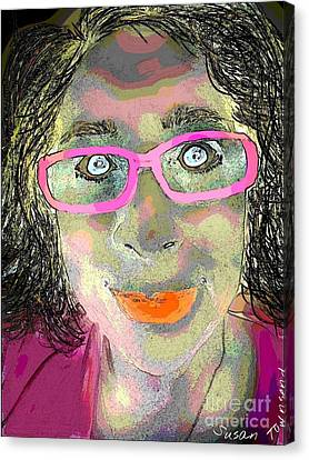 Funny Face Canvas Print by Susan Townsend