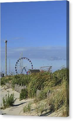 Funtown Pier Seaside Park New Jersey Canvas Print