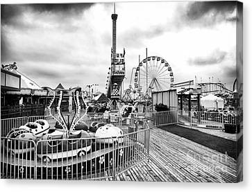 Funtown Rides Canvas Print