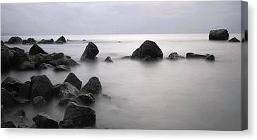 Furbo Beach Canvas Print by Peter Skelton