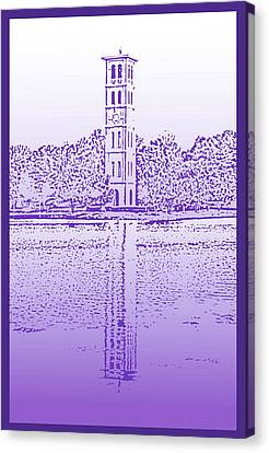 Furman Bell Tower Canvas Print by Greg Joens