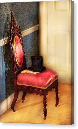 Furniture - Chair - Ready For The Ball Canvas Print by Mike Savad