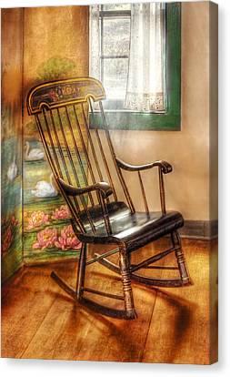 Furniture - Chair - The Rocking Chair Canvas Print