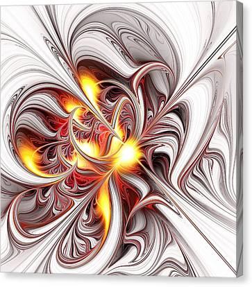 Fury Canvas Print by Anastasiya Malakhova