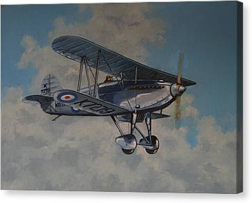 Fury II Raf Canvas Print