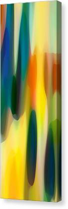 Fury Panoramic Vertical 1 Canvas Print by Amy Vangsgard