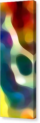 Fury Panoramic Vertical 2 Canvas Print by Amy Vangsgard