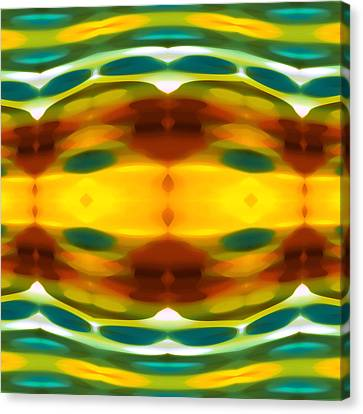 Fury Pattern 5 Canvas Print by Amy Vangsgard