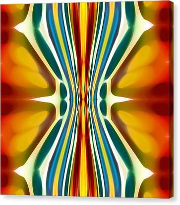 Fury Pattern 6 Canvas Print