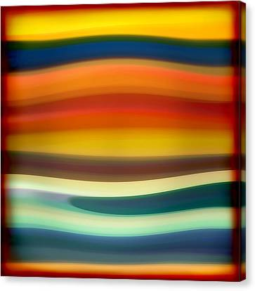 Abstract Seascape Canvas Print - Fury Sea 1 by Amy Vangsgard