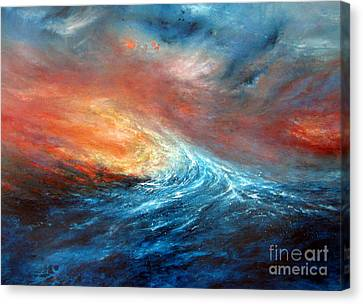 Fusion Canvas Print by Valerie Travers