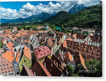 Fussen - Bavaria - Germany Canvas Print by Gary Whitton