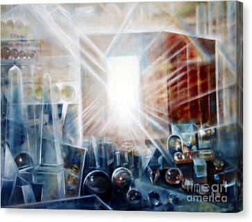 Future City #5 Canvas Print by Yael Avi-Yonah