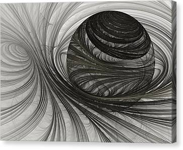 Future Sphere Canvas Print by Martin Capek