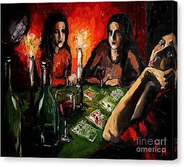 Future Telling Canvas Print by Mona Edulesco