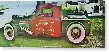 G And M Roos Inc. Canvas Print by PainterArtist FIN