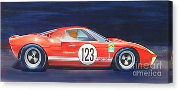 G T 40 Canvas Print by Robert Hooper