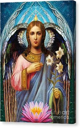 Gabriel The Archangel Canvas Print