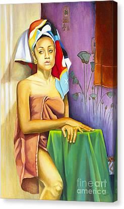 Gaby Canvas Print by Marlene Book