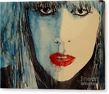 Lady Gaga Canvas Print - Gaga by Paul Lovering