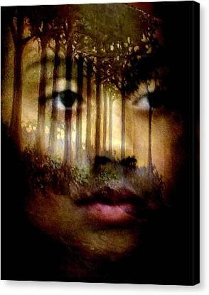 Canvas Print featuring the photograph Gaia by Jodie Marie Anne Richardson Traugott          aka jm-ART