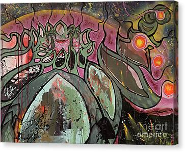 Galactic Sunrise Canvas Print