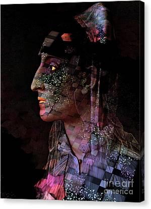Galactika Canvas Print