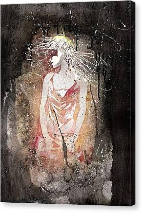 Galaxy 510 Canvas Print by Vanessa Baladad