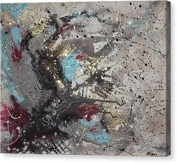 Galaxy Canvas Print by Joe Fugere