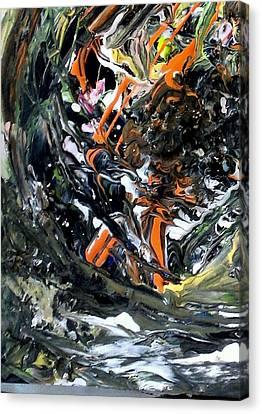 Galaxy Canvas Print by Kamal Gill
