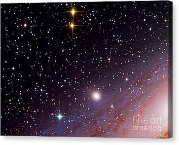 Galaxy M32 Canvas Print by John Chumack