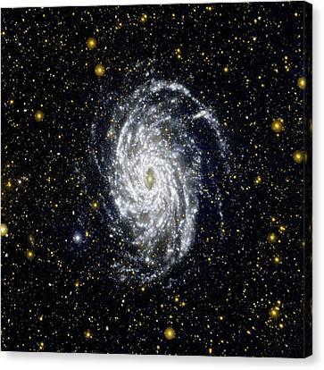 Galaxy Ngc 6744 Canvas Print by Nasa