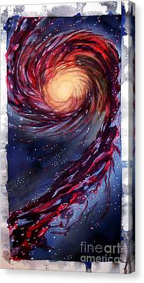 Galaxy Canvas Print by Renee Boyett
