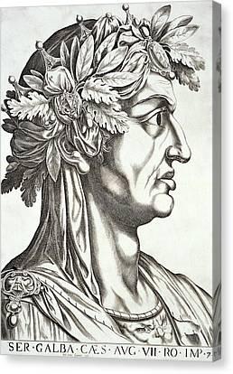 Galba Caesar  Canvas Print