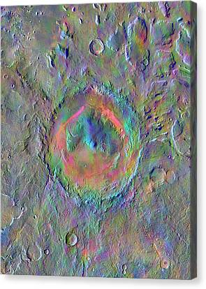 Gale Crater Canvas Print