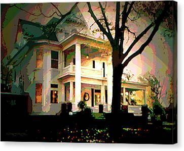 Galesburg House Canvas Print