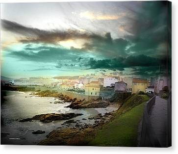 Canvas Print featuring the photograph Galicia by Alfonso Garcia