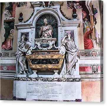 The Universe Canvas Print - Galileo's Tomb by Brian Gadsby