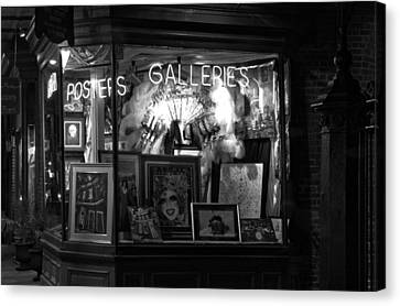 Gallery On Royal Street Canvas Print