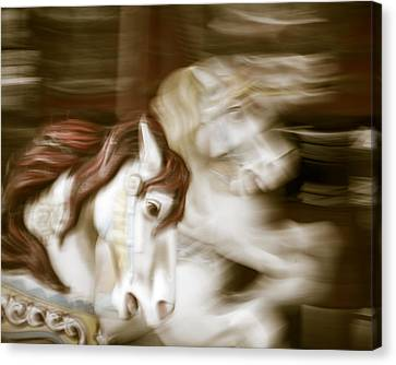 Gallop 3 Canvas Print