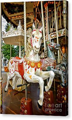 Galloper Canvas Print by Olivier Le Queinec