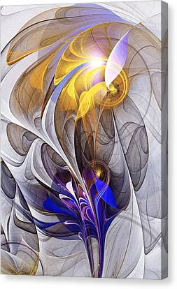 Galvanized Canvas Print