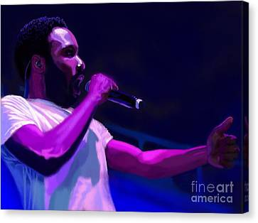 Gambino Is A Mastermind  Canvas Print
