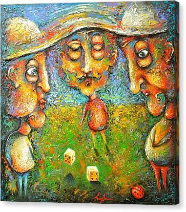 Gambling - The Luckybug Canvas Print