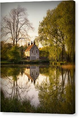 Game Keepers Cottage Cusworth Canvas Print by Ian Barber