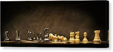Game Over Canvas Print by Don Hammond