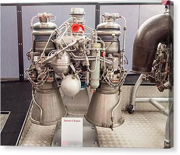Gamma 2 Engine Canvas Print by Ashley Cooper